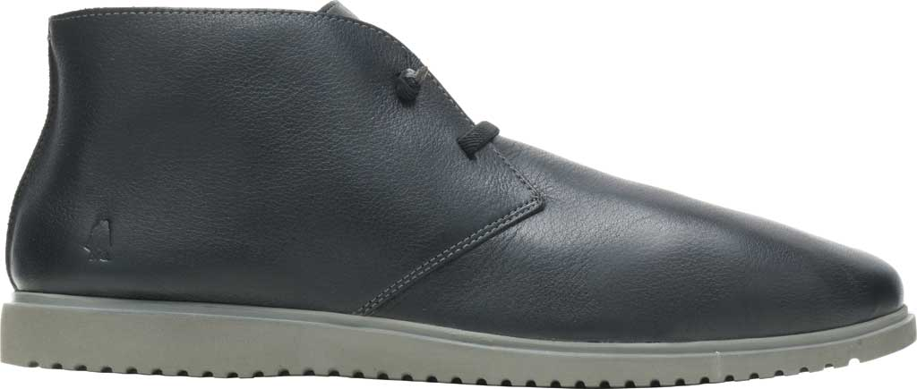 Men's Hush Puppies The Everyday Chukka Boot, Black Leather, large, image 2