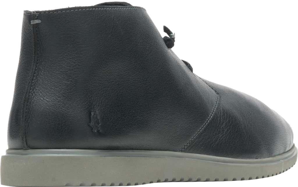 Men's Hush Puppies The Everyday Chukka Boot, Black Leather, large, image 3