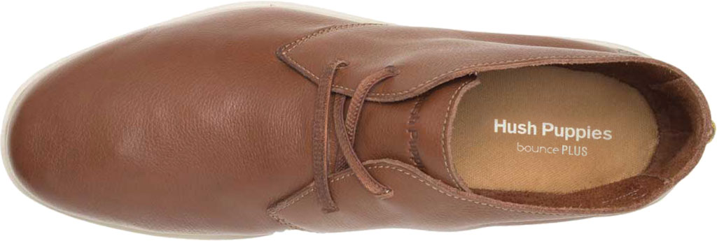 Men's Hush Puppies The Everyday Chukka Boot, Cognac Leather, large, image 4