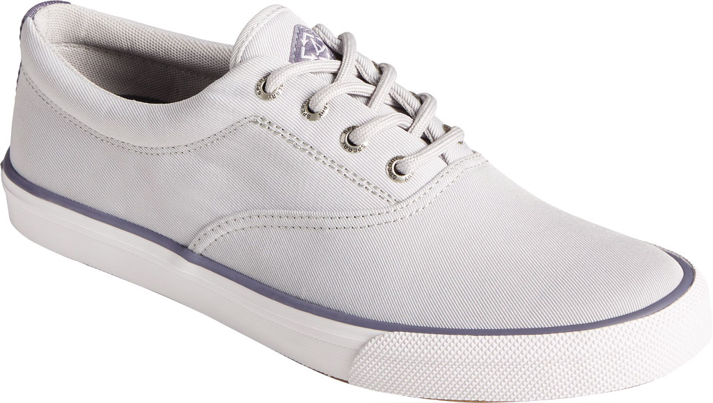 Men's Sperry Top-Sider Striper II CVO Sustainability Collection Sneaker, Grey RPET Fabric, large, image 1