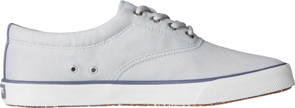 Men's Sperry Top-Sider Striper II CVO Sustainability Collection Sneaker, Grey RPET Fabric, large, image 3