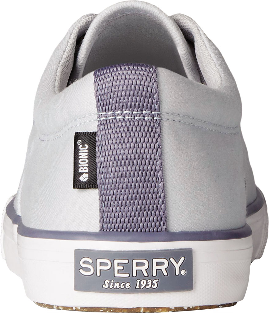 Men's Sperry Top-Sider Striper II CVO Sustainability Collection Sneaker, Grey RPET Fabric, large, image 4
