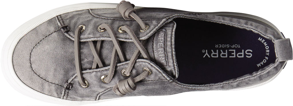 Women's Sperry Top-Sider Crest Vibe Ombre Sneaker, Grey Ombre Fabric, large, image 5