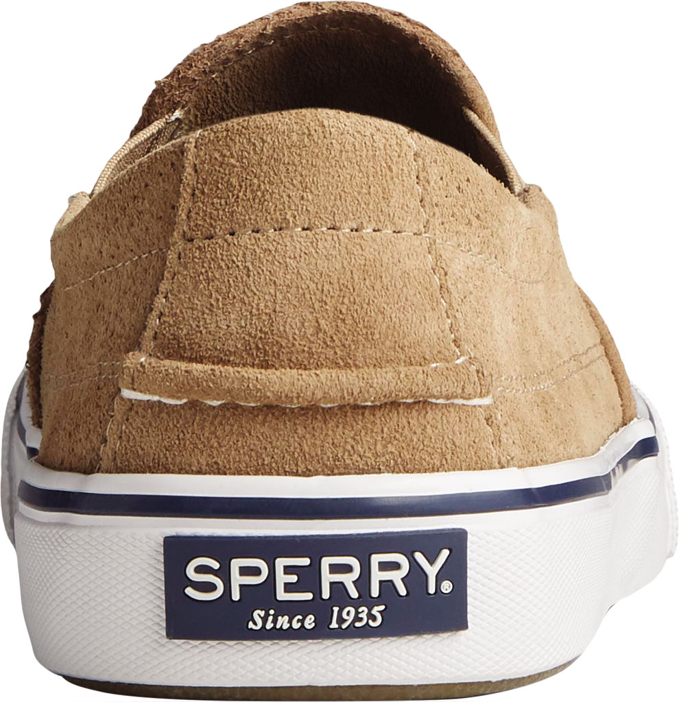 Men's Sperry Top-Sider Striper II Twin Gore Perforated Sneaker, Taupe Perforated Suede, large, image 4
