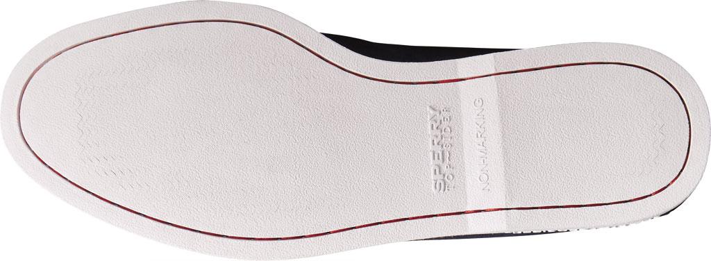 Men's Sperry Top-Sider Authentic Original Tassel Kiltie Loafer, Navy/Red Suede, large, image 6