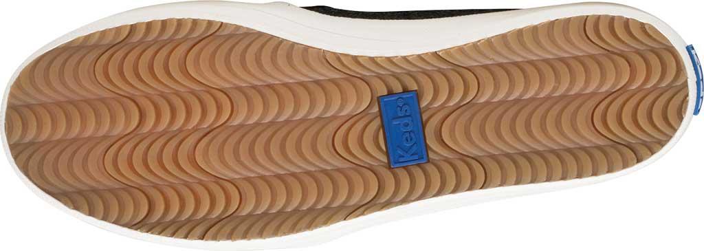 Women's Keds Kate Spade Double Decker Glitter Slip On Sneaker, Black Glitter, large, image 5