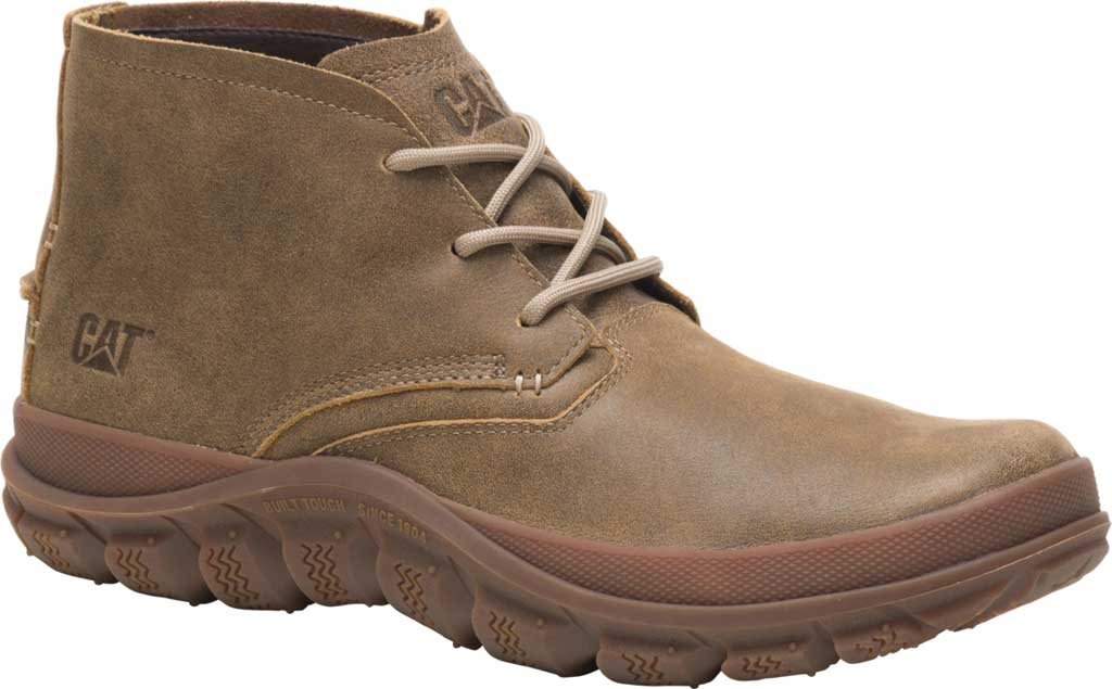 Men's Caterpillar Fused Tri Mid Chukka Boot, Beaned Full Grain Leather, large, image 1