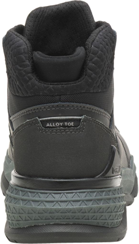 Men's Caterpillar Provoke Mid Alloy Toe Waterproof Boot, Black PU Coated Waterproof Leather, large, image 4