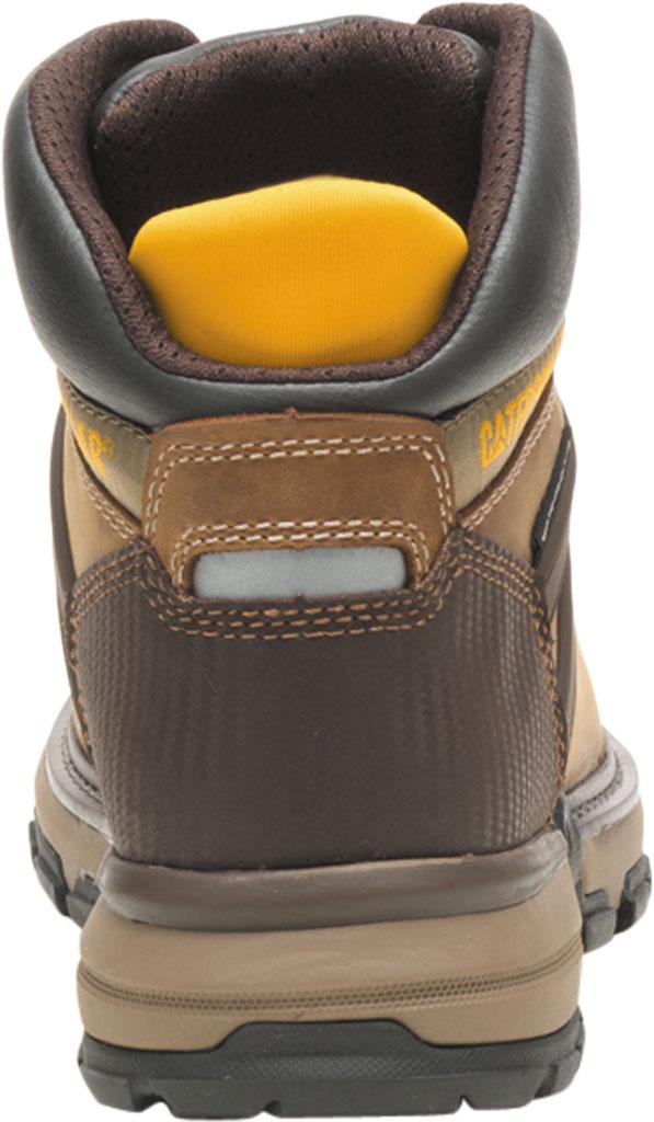 Men's Caterpillar Excavator Superlite Waterproof Boot, Dark Beige Full Grain Leather, large, image 4