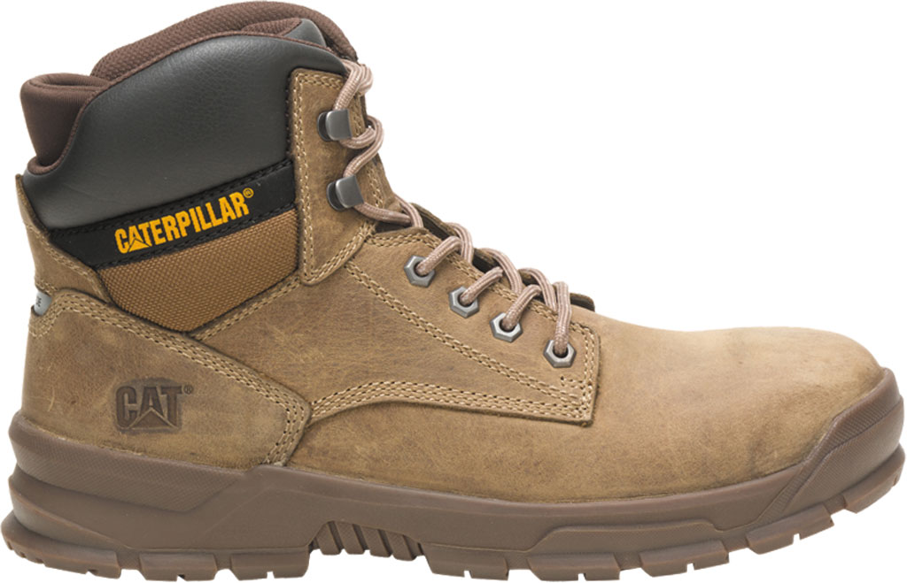 Men's Caterpillar Mobilize Alloy Toe Work Boot, Fossil Leather, large, image 2