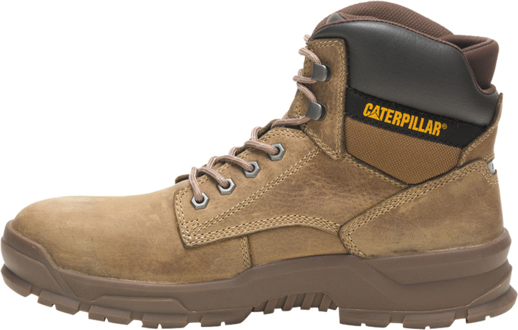 Men's Caterpillar Mobilize Alloy Toe Work Boot, Fossil Leather, large, image 3