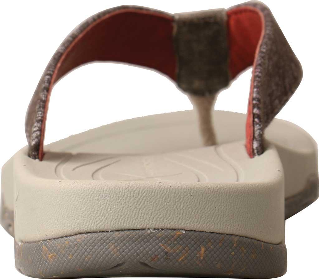 Women's Twisted X WSD0037 Flip Flop, Dark Grey Wool, large, image 4