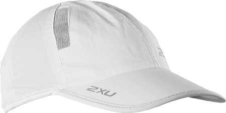 2XU Run Cap, White/White, large, image 1