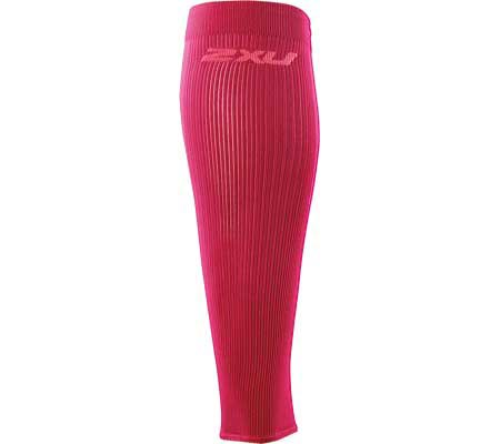 2XU Compression Performance Run Sleeves, Hot Pink/Hot Pink, large, image 1