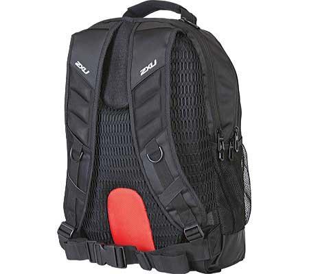 2XU Distance Backpack, Black/Black, large, image 2