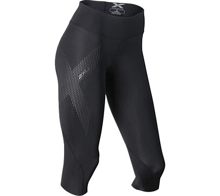 Women's 2XU Mid-Rise 3/4 Compression Tight, , large, image 1