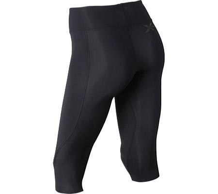 Women's 2XU Mid-Rise 3/4 Compression Tight, , large, image 2