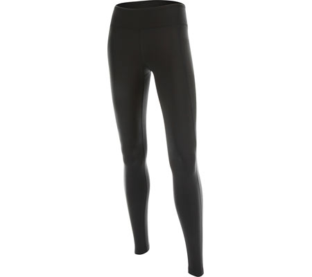 Women's 2XU Active Compression Tights, Black/Silver, large, image 1
