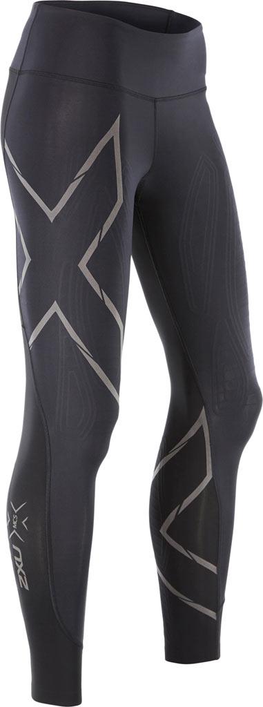 Women's 2XU MCS Run Compression Tight, Black/Nero, large, image 1