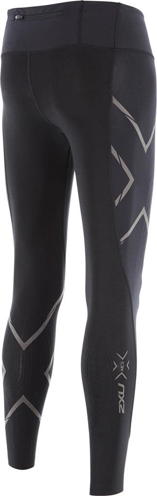 Women's 2XU MCS Run Compression Tight, Black/Nero, large, image 2
