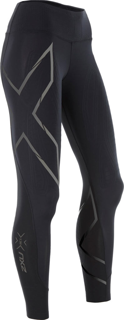 Women's 2XU MCS Bonded Mid-Rise Compression Tight, , large, image 1