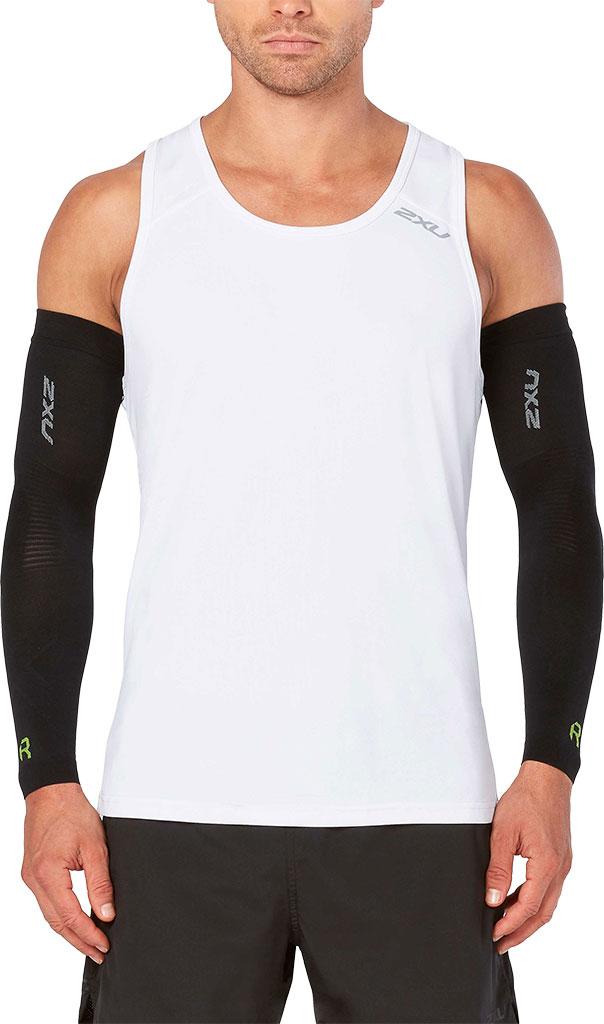 2XU Recovery Flex Arm Sleeve, Black/Nero, large, image 1