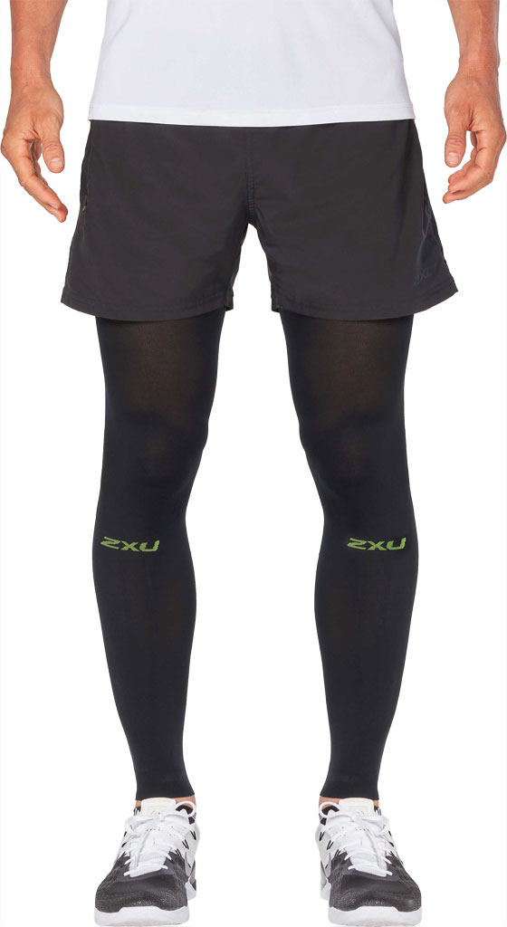 2XU Recovery Flex Leg Sleeve, Black/Nero, large, image 1