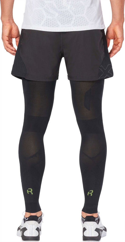 2XU Recovery Flex Leg Sleeve, Black/Nero, large, image 2