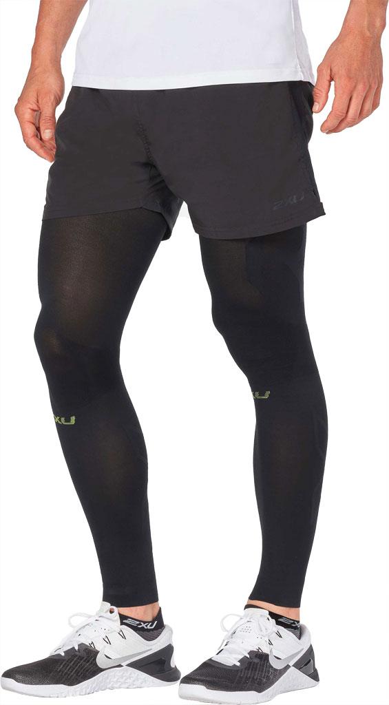 2XU Recovery Flex Leg Sleeve, Black/Nero, large, image 3