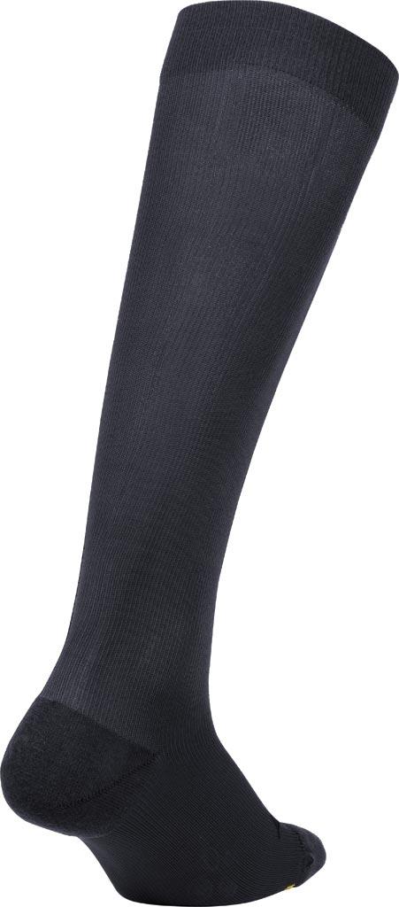 2XU Flight Compression Sock, Titanium/Titanium, large, image 2