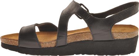 Women's Naot Pamela, Black Madras Leather, large, image 3