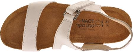 Women's Naot Pamela, White Leather, large, image 6