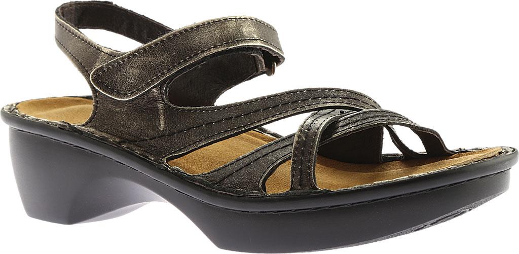 Women's Naot Paris Sandal, Metal Leather, large, image 1