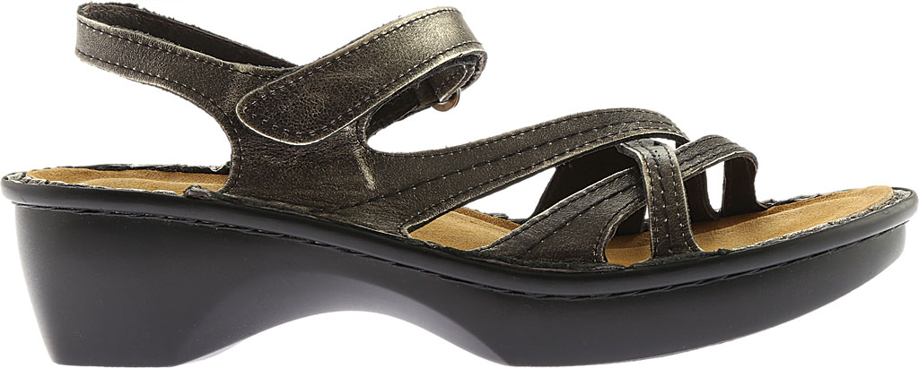 Women's Naot Paris Sandal, Metal Leather, large, image 2
