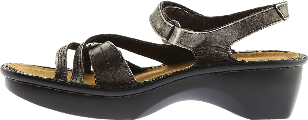 Women's Naot Paris Sandal, Metal Leather, large, image 3