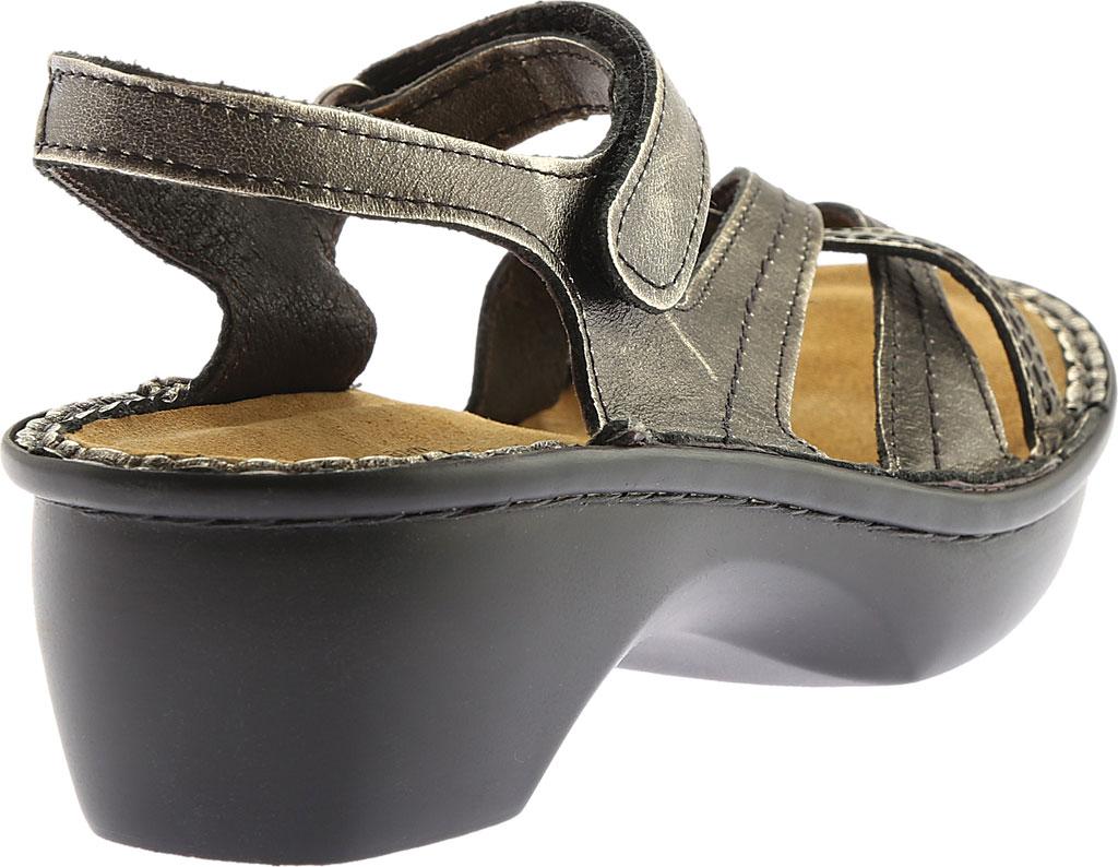 Women's Naot Paris Sandal, Metal Leather, large, image 5
