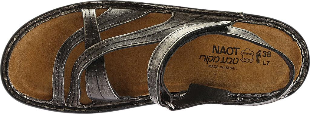 Women's Naot Paris Sandal, Metal Leather, large, image 6