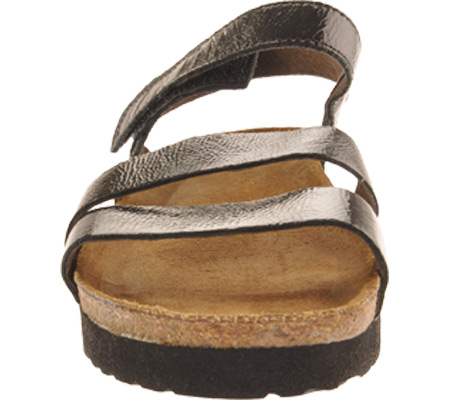 Women's Naot Kayla Sandal, Black Patent Leather, large, image 4