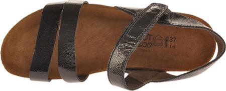 Women's Naot Kayla Sandal, Black Patent Leather, large, image 6