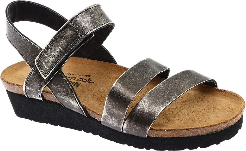 Women's Naot Kayla Sandal, Metal Leather, large, image 1