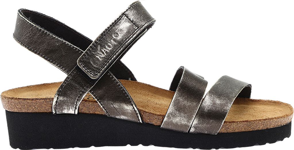 Women's Naot Kayla Sandal, Metal Leather, large, image 2