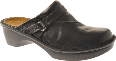 Women's Naot Florence, Midnight Black Leather, large, image 1