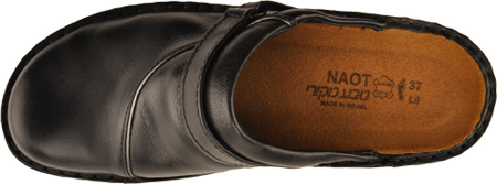 Women's Naot Florence, Midnight Black Leather, large, image 6