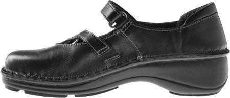Women's Naot Primrose, Black Madras/Black Patent Leather, large, image 3