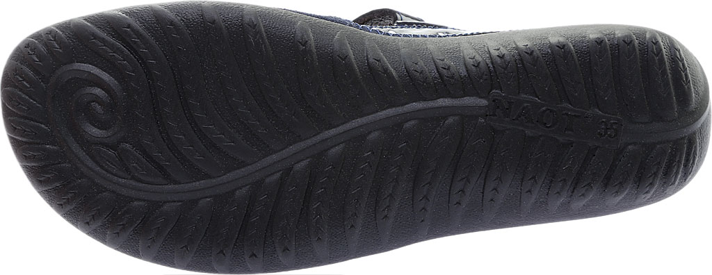 Women's Naot Kirei Mary Jane, Polar Sea Leather/Blue Velvet Suede/Navy Patent, large, image 6