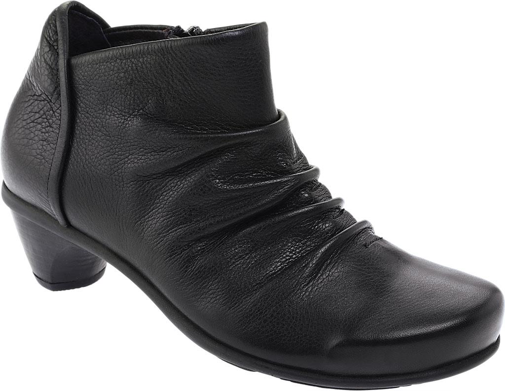 Women's Naot Advance, Soft Black Leather, large, image 1