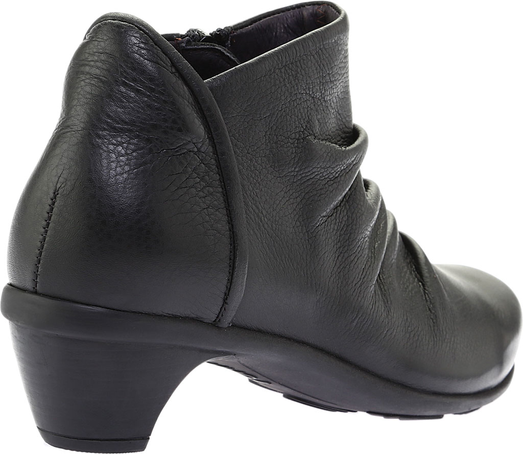Women's Naot Advance, Soft Black Leather, large, image 4