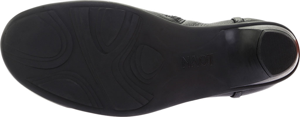 Women's Naot Advance, Soft Black Leather, large, image 6