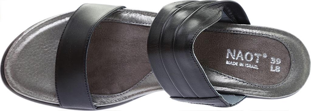 Women's Naot Isis, Jet Black Leather, large, image 5