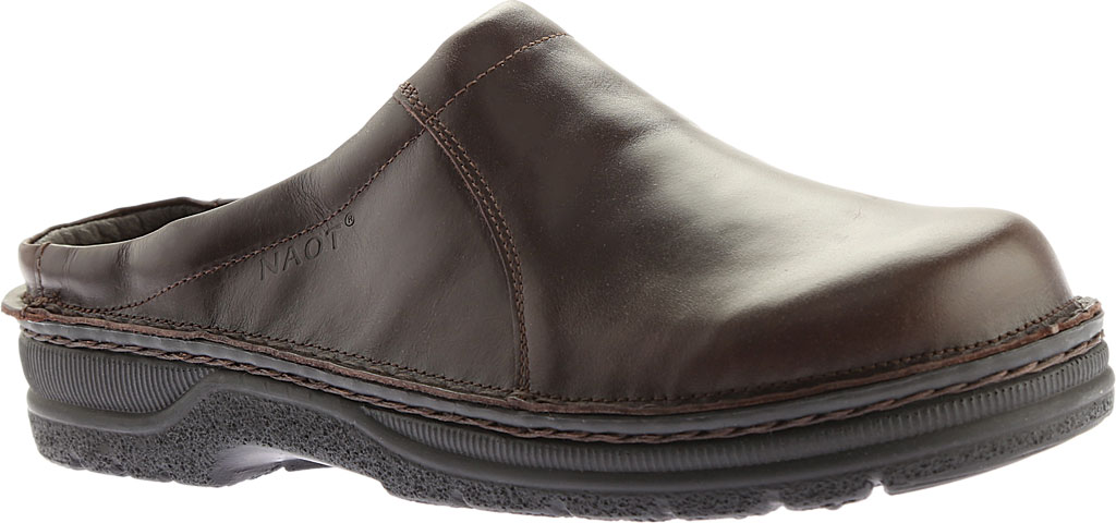Men's Naot Bjorn, Walnut Leather, large, image 1